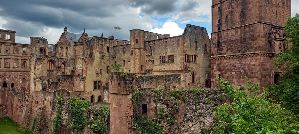 Die Schlossruinen