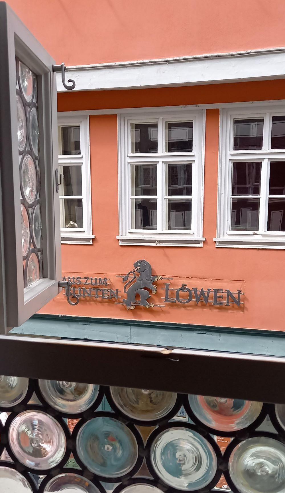 Historischer Wohnraum im Museum Brückenhaus auf der Krämerbrücke