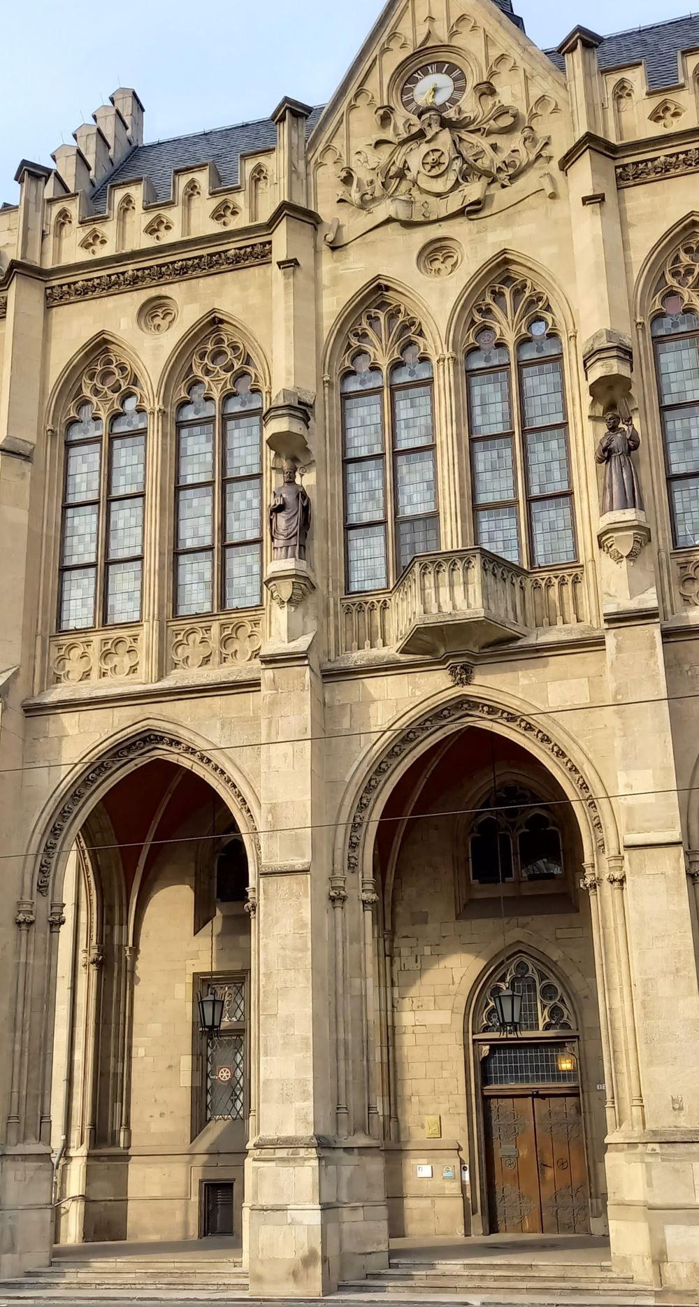 Das Erfurter Rathaus am Fischmarkt