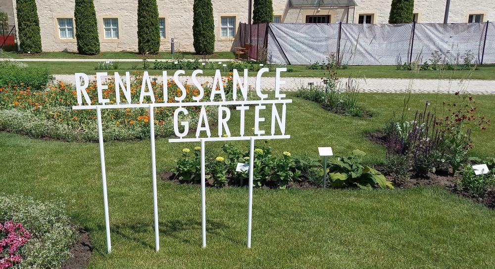 Der Renaissance-Garten am BUGA-Standort Petersberg