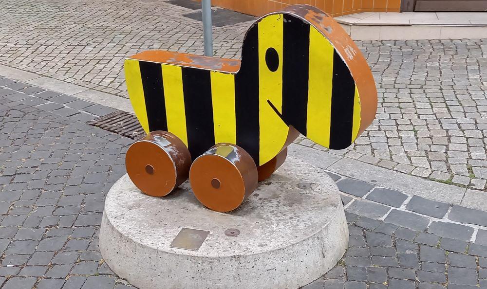 Die Tigerente in der Schlösserstraße in Erfurt