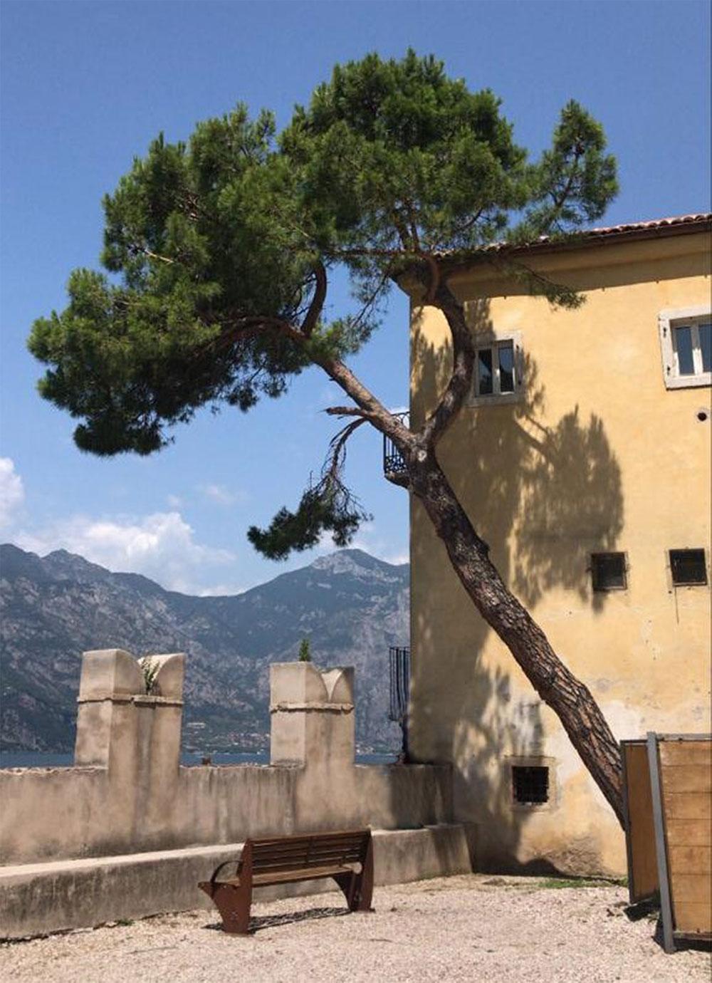 Innenhof des Palazzo dei Capitani