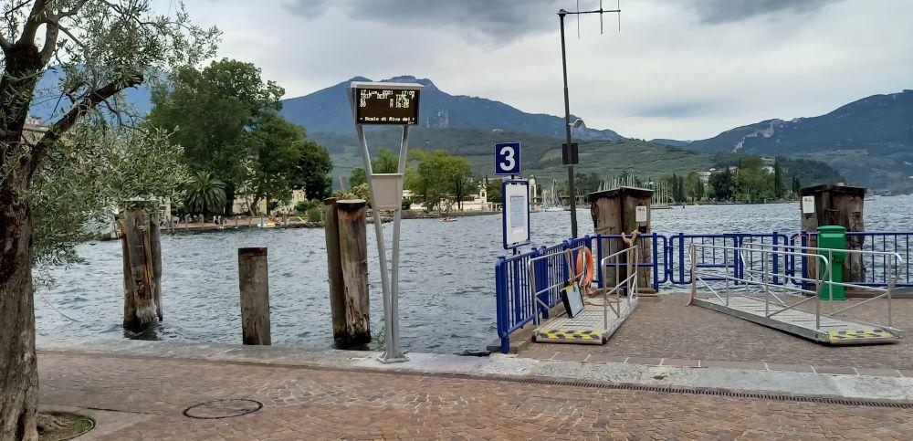 Fährhafen in Riva del Garda