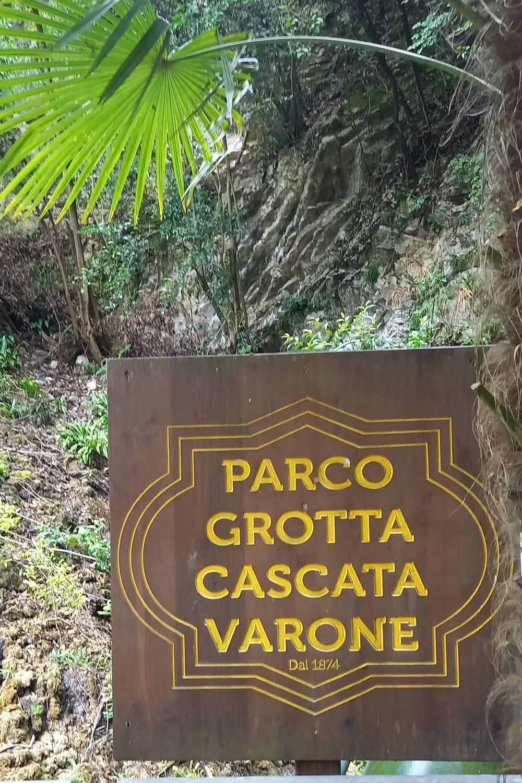 Eingangsschild des Varone Parks